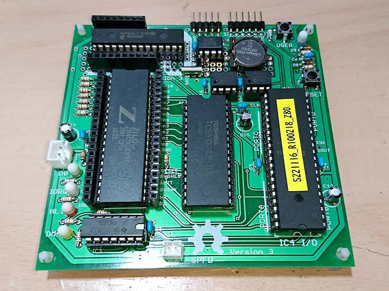 Z80-MBCを作ってみた   ブログはじめてしまいました